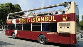 Bigbus Istanboel Stock Foto