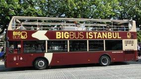 Bigbus Istanboel Royalty-vrije Stock Fotografie
