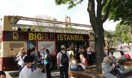 Bigbus Istanboel Stock Foto's