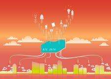 Bigdata Lizenzfreie Stockbilder