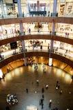 Bigesst centrum handlowe w światowym Dubaj centrum handlowym Obrazy Royalty Free