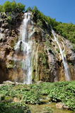 Bigest водопад (шлепок Veliki) на озерах Pltvice Стоковая Фотография RF
