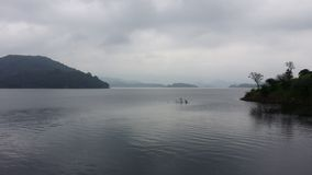Lake of Moragahakanda royalty free stock photography