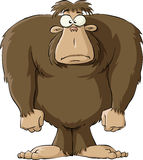 Bigfoot stock illustration