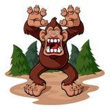 bigfoot Lizenzfreies Stockfoto