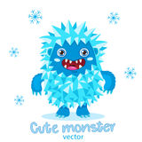 Bigfoot Cartoon Mascot. Funny Yeti On A White Background.. Cute Monster Vector Illustration. Bigfoot Cartoon Mascot. Funny Yeti On A White Background. For Kids Royalty Free Stock Images