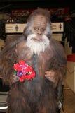 Bigfoot Harry ed il cosplay dei hendersons a Sheffield Film ed al raggiro comico 2014 Immagini Stock