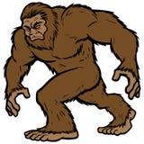 Bigfoot-Maskottchen vektor abbildung