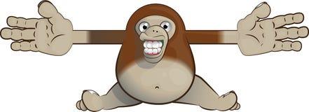 Bigfoot que dá um abraço Imagem de Stock