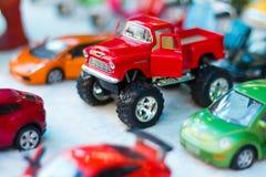 Bigfoot red toy car. Royalty Free Stock Image