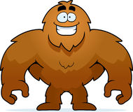 Bigfoot Smiling Stock Photo