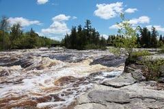 Bigfork-Fluss Stockbild