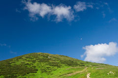 Bigger hill of Little Fatra hills Stock Photography