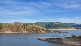 Biggesee Reservoir,Sauerland,Germany Royalty Free Stock Images