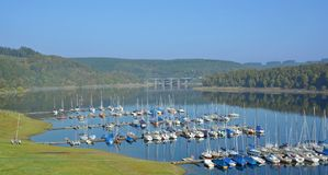 Biggesee Reservoir,Sauerland,Germany Stock Photos