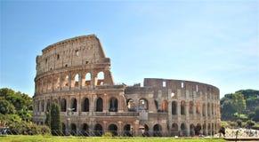 The Colloseum, Amphitheatre Rome. The biggest Amphitheatre ever built, the colloseum Rome stock images
