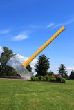The biggest axe in the world Royalty Free Stock Image