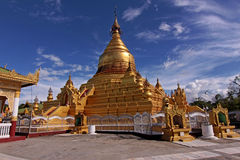 Biggest book in the world - kuthodaw pagoda Stock Images