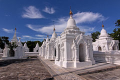 Biggest book in the world - kuthodaw pagoda Stock Photos