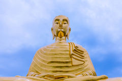 The Biggest buddha in best view. Royalty Free Stock Photography