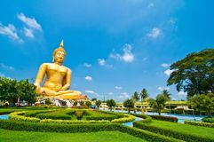 Biggest Buddha Image Stock Photography
