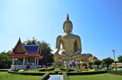 Biggest buddha image Stock Images