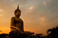 Biggest buddha statue Royalty Free Stock Photography
