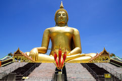 Biggest Buddha statue in Thailand Royalty Free Stock Image