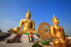 Biggest buddha statue at Wat muang, Thailand. Big buddha statue at Wat muang, Thailand Stock Photos