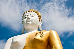 A biggest Buddha in Thailand Stock Image