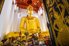 Biggest buddha in Thailand:Luang Pho Toh Wat Ket Chaiyo. Stock Photography