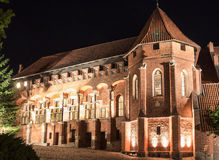 Biggest castle in Europe. Malbork in Poland. Stock Photography
