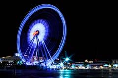The Biggest ferris wheel Landmark of Asiatique, Bangkok Thailand. Royalty Free Stock Image