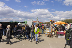 Biggest Flohmarket in Munich, 2015 Royalty Free Stock Photography