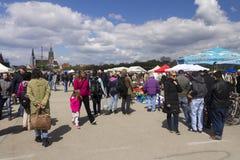 Biggest Flohmarket in Munich, 2015 Stock Photography