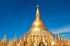Biggest golden stupa in Shwedagon Zedi Daw, Yangon, Myanmar Stock Photography