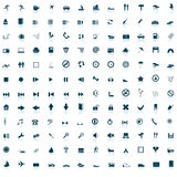 Biggest icon collection Stock Photography