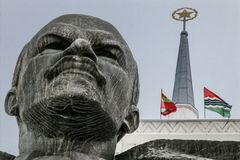 Free Biggest Lenin Bust In Soviet Union Royalty Free Stock Photos - 101128458