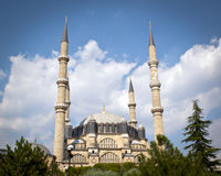 The biggest mosque in Turkey Royalty Free Stock Image