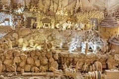 Biggest movable wooden bethlehem, Banska Stiavnica, Slovakia Stock Images