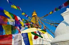 The biggest pagoda in nepla, boudhanath,kathmandu, Royalty Free Stock Image