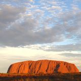 Uluru Ayers Rock (Unesco), wonders of the world, Australia Stock Image
