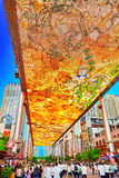 Biggest screen of LSD in the world. BEIJING, CHINA - MAY 20, 2015: Biggest screen of LSD in the world installed in Beijing, on the Jia No.9 Guanghua Road street Stock Photography