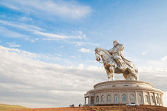 Biggest statue of Chinghiskhan Stock Photo