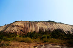The biggest stone in Asia Royalty Free Stock Photo