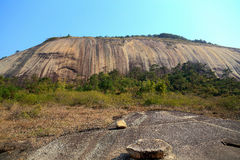 The biggest stone in Asia Royalty Free Stock Photography