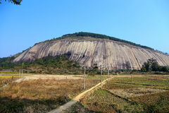 The biggest stone in Asia Royalty Free Stock Photos
