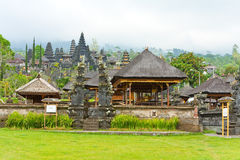 The biggest temple complex,Bali,Indonesia. Besakih Stock Photo