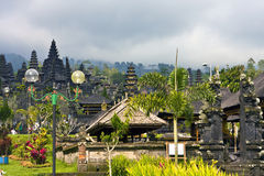 The biggest temple complex, mother of all temples Stock Photos