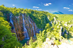 Biggest waterfall in Croatia - Veliki slap Stock Image